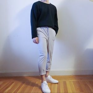 Other - Light grey relaxed fit stretchy pants
